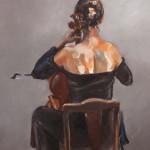 0151 Violoncelliste de Dos(BD)