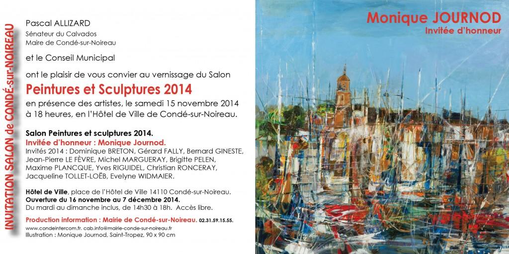 Invitation Salon Condé-sur-Noireau 2014