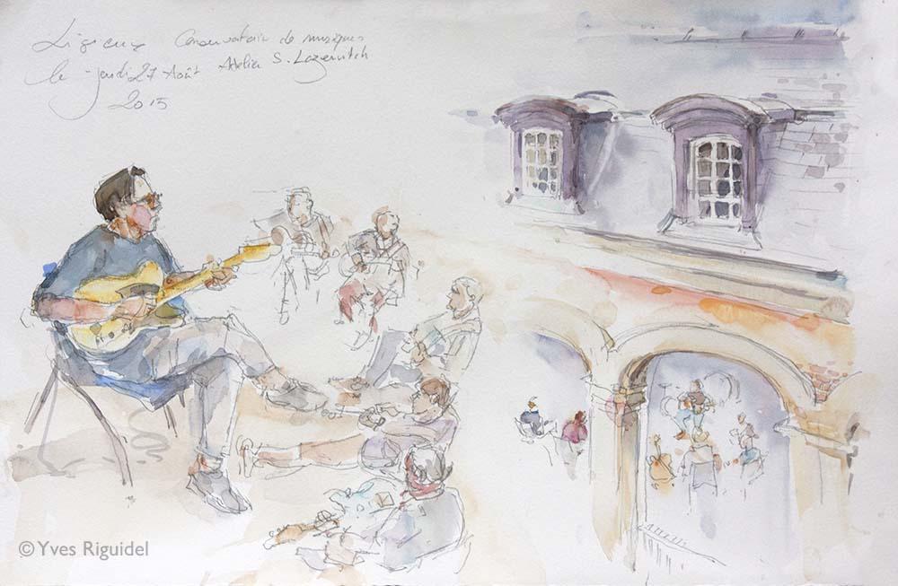 "Atelier Serge Lazerevitch ""Guitare"""