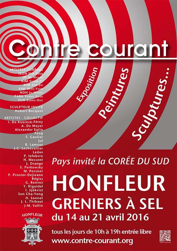 Affiche - Contre-Courant Honfleur - 2016