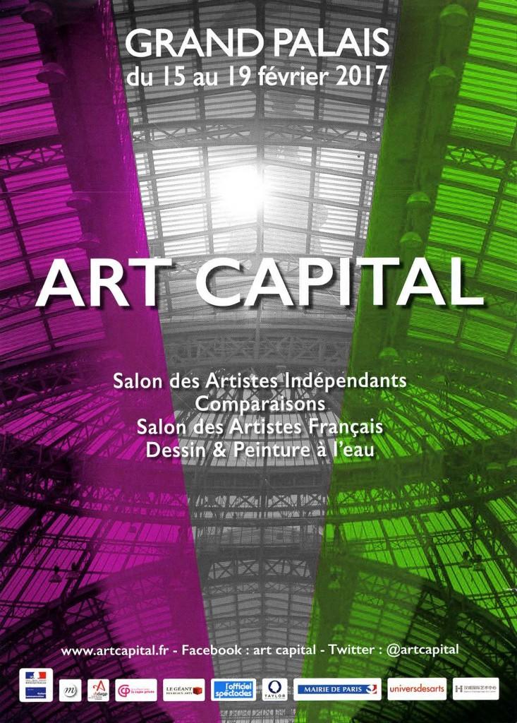 Carton d'invitationSalon des artistes Français