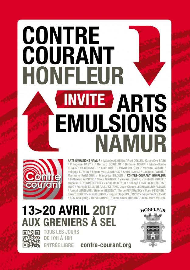 Affiche CC Honfleur 2017