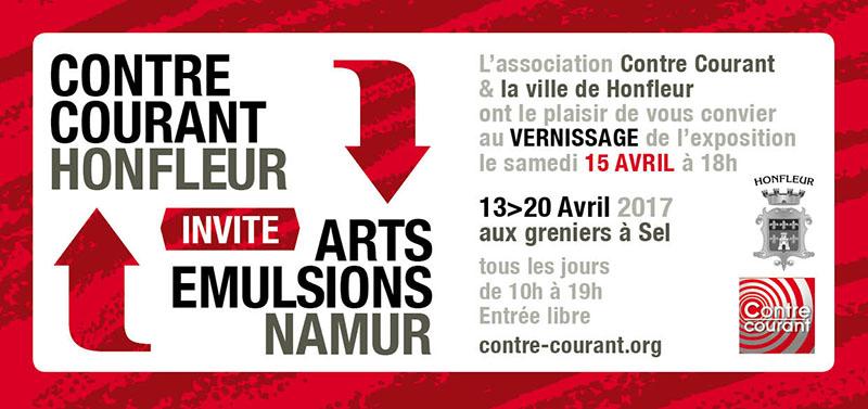 Carton d'invitation CC Honfleur 2017